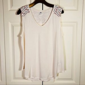 NWOT Old Navy Sleeveless Cotton V-neck Top